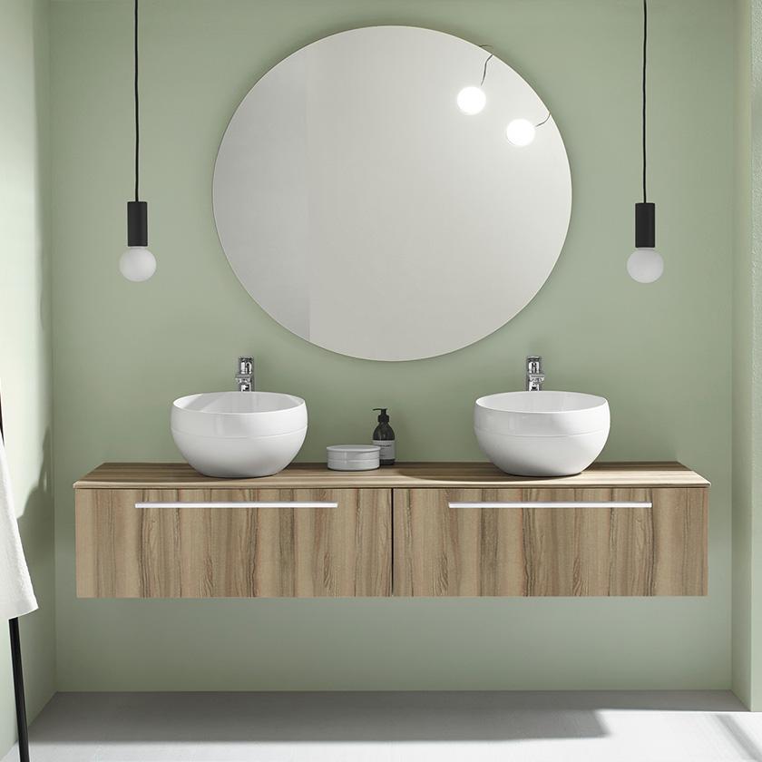 Meubles de salle de bain   Série sys30 Aqua   Burgbad