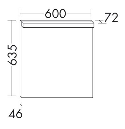 Miroir avec clairage led horizontal sigu060 meubles de for Miroir horizontal salon