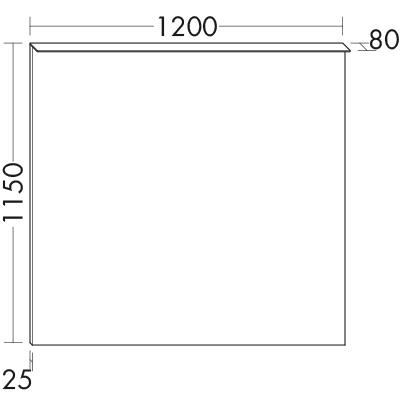 Miroir lumineux avec clairage horizontal en applique for Miroir horizontal salon
