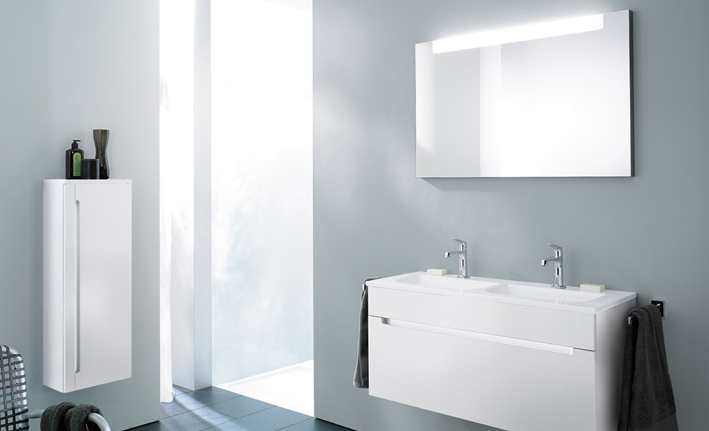 Meubles de salle de bain s rie chiaro burgbad for Burgbad salle de bain