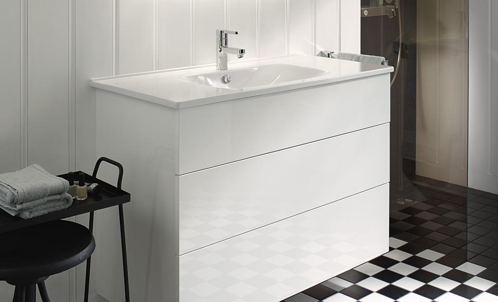 Meubles de salle de bain s rie essento burgbad for Meuble de salle de bain cedeo
