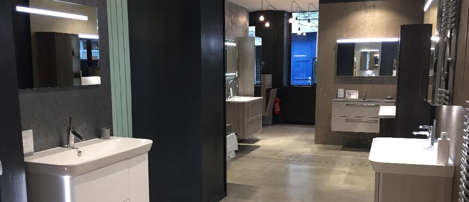 Show room salle de bain latest salle de bain design de la for Showroom salle de bain