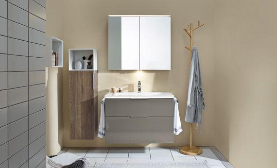Meubles de salle de bain s rie eqio burgbad for Meuble de salle de bain burgbad