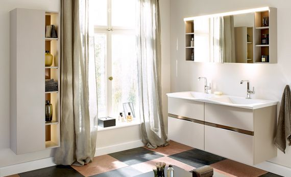 meubles de salle de bain s rie orell burgbad. Black Bedroom Furniture Sets. Home Design Ideas